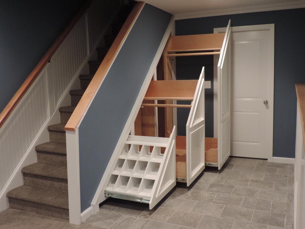 Attractive Under Stairs Storage